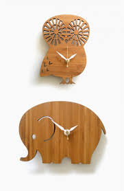 34 wooden wall clocks to warm up your