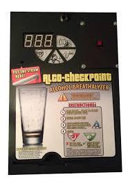 Breathalyzer Vending Machine Enchanting AlcoCheckpoint Breathalyzer Vending Machine With Bill Acceptor