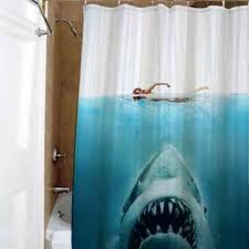 amazing shower curtains shark jaws special custom shower curtains available  size amazing gift shower curtains ikea