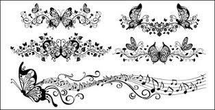 蝶 無料素材イラストベクターのフリーデザイナー
