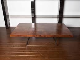 Black Walnut Coffee Table Black Walnut Burl And Bronze Coffee Table By Milo Baughman At 1stdibs