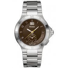 high speed dual time mens watch f478120 fendi high speed dual time mens watch f478120
