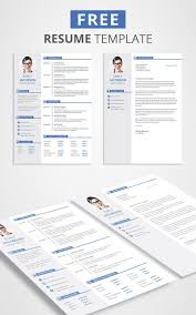Free Cv Template And Cover Letter Graphic Design Resources