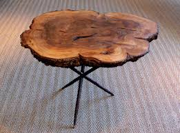 furniture eye catching tree trunk coffee tables for your living room splendid coffee table