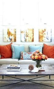 orange and blue decor blue and orae livi room blue and orae room decor blue orae