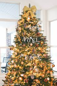 Gold Christmas Tree Garland (08)