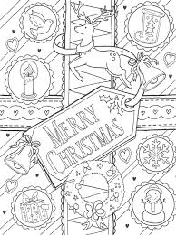 Ornament Wreath Coloring Page Click The Christmas Wreath Coloring
