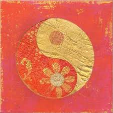 canvas wall art yin yang red glowing in the dark 80 x 80 cm on yin yang canvas wall art with finest wall art in europe canvas wallpaper by startonight