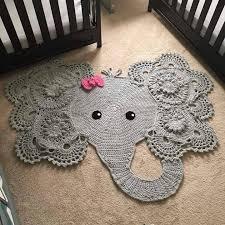 Free Crochet Elephant Rug Pattern