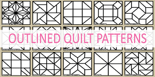 Barn Quilt Patterns, Designs, Ideas & More! & Outlined Barn Quilt Patterns Adamdwight.com