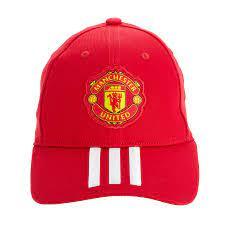 Manchester United Baseball Cap - Rot / Weiß