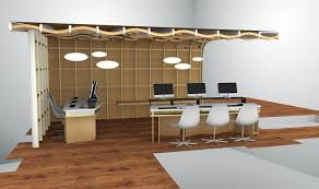 Organic Office Organic Room Structure Alain Marzat