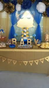 Blue And Gold Baby Shower Decorations 17 Best Ideas About Royal Baby Showers On Pinterest Royal Babies