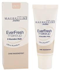 maybelline everfresh make up nr 20 cameo flüssiges bis zu 8 stunden halt für einen frischen