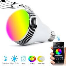 Smart Music Lighting Speaker Manual 10 Best Bluetooth Light Bulb Speakers For Colorful Party In 2019