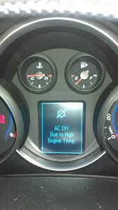 AC off due to high engine temp. on my Cruze - Page 2