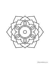 easy mandala coloring pages other coloring pages you might like