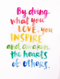 Do What You Love Quotes Unique Do What You Love Word Pinterest Amy Watercolor And Inspirational