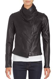 leather scuba jacket vince