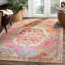 orange and blue area rug safavieh crystal orange blue area rug 5 x 8 on