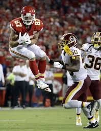 Nfl Drive Chart Live Travis Kelce Went Up For This Pass Against The Washington