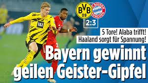 May 28, 2021 · erling haaland netted 53 goals in 56 games for borussia dortmund. Borussia Dortmund Gegen Bayern Munchen Liveticker Bundesliga 7 Spieltag 2020 2021 Sport Bild De