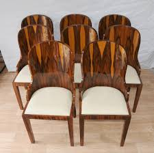 vintage art deco furniture. 1920 art deco furniture photo of set dining chairs rosewood 1920s interiors vintage f