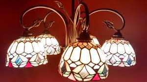 patriot lighting belle 24 oil shale tiffany chandelier
