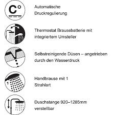 Thermo Combi Duschsystem Square Kaufen Hapa Design