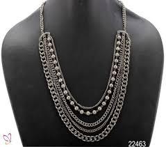 black metal jewellery.  Metal Black Metal Chain Necklace Intended Jewellery