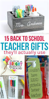 15 back to teacher gifts