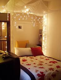 Lights In Bedroom Bedroom Decorating Ideas With Christmas Lights Best Bedroom