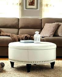 cushioned coffee table. Cushion Ottoman Coffee Table Large Dining Storage Footstool Cushioned E