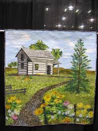 Quilt Expo – Madison, Wisconsin | Traveling Quilter & Landscape quilts at Wisconsin Quilt Expo, Madison, WI Adamdwight.com