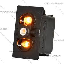 carling double white light rocker switch