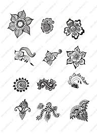 Small Picture Simple Mehndi Designs for Beginners Printable Henna Designs