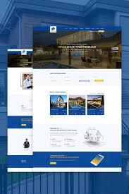 apartment website design. Custom Website Design Template #67385 - Apartment Broker Business Developer Directory Google