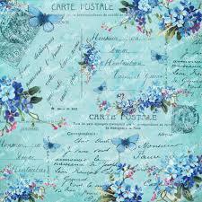 vintage flower sheets blue collage sheet vintage flowers scrapbooking