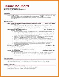 7 College Student Resume Example Doctors Signature
