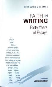 the penang bookshelf faith in writing forty years of essays faith in writing forty years of essays goenawan mohamad