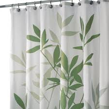 com interdesign leaves x long shower curtain green 72 inch by 96 inch home kitchen