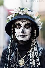 dia de los muertos day of the dead san francisco face paint skull photo jonathan clark spider woman