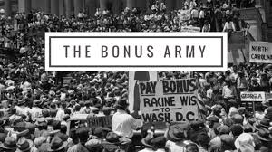 Bonus Army The Bonus Army 1932