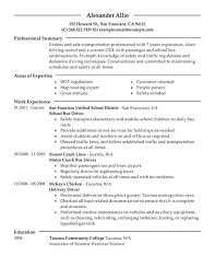 Resume For Bus Driver Template Best of Cosy Sample Resume Transit Bus Driver About Professional Bus Driver
