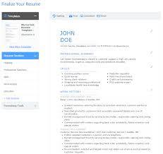Cool Free Resume Builder Pdf Contemporary Example Resume Ideas