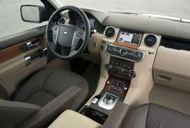 land rover lr4. the cabin is classy and toughlooking some of dials guages are land rover lr4