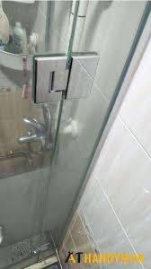 glass door hinge repair door repair