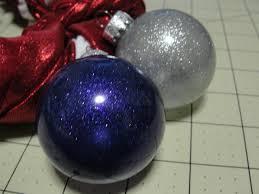 extreme glitter acrylic paint ornament