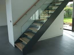 staircase at new build house