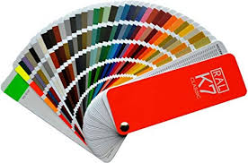 Ral Color Chart Amazon Ral K7 Colour Fan Deck